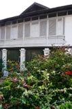 热带房子,庭院 免版税图库摄影