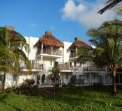 热带手段别墅 图库摄影