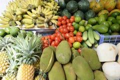 热带新鲜水果 库存照片