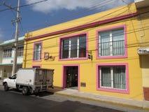 热带旅馆在梅里达尤加坦 库存图片