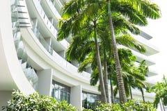 热带旅馆 免版税库存图片