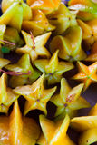 热带果子的星形 免版税库存图片