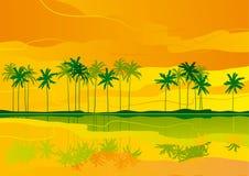 热带梦想 库存例证