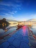 热带横向的晚上 泰国 免版税库存照片