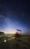 热带横向的晚上 泰国 免版税库存图片