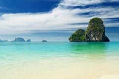 热带横向的海运 免版税图库摄影