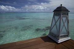热带海岛和沙子海滩异乎寻常的旅行 库存照片