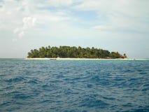 热带海岛在斐济 库存图片
