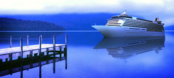 热带海岛巡航假期假日旅游业概念 免版税库存图片