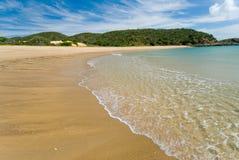 热带海岛海滩 免版税库存图片