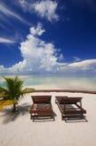 热带海岛理想的放松 免版税图库摄影