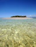 热带海岛的天堂 免版税库存照片