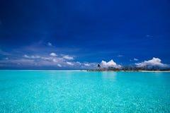 热带海岛的天堂 免版税库存图片