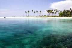 热带海岛的天堂 免版税图库摄影