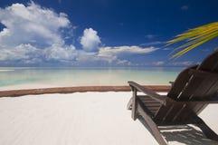 热带海岛的放松 免版税库存照片