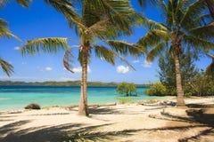热带海岛的横向 Coron海岛 菲律宾 库存照片