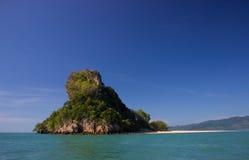 热带海岛 免版税库存图片