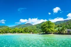 热带海岛 免版税库存照片