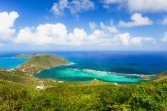 热带海岸天线 库存照片