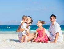 热带海滩的系列四 免版税库存照片