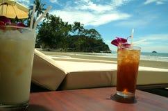 热带海滩的系列 免版税图库摄影