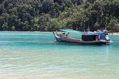 热带海滩,攀牙,泰国的南部 库存图片