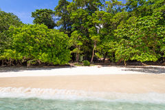 热带海滩Similan海岛 库存图片