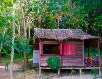 热带海滨别墅在泰国 免版税图库摄影