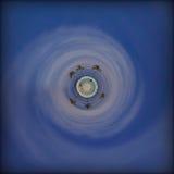 热带海滩天堂行星 库存图片
