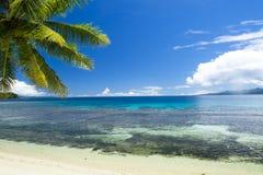 热带海滩天堂 库存图片