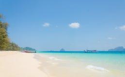 热带海滩安达曼海,泰国 库存照片