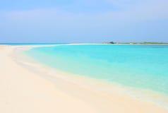 热带海滩,委内瑞拉 免版税图库摄影