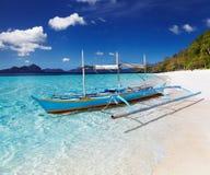 热带海滩,菲律宾 库存图片