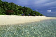 热带海滩 图库摄影