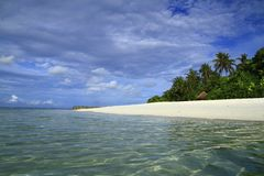 热带海滩 库存照片