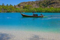 热带海 免版税库存图片