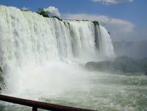 热带瀑布 库存照片