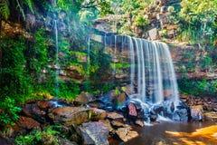 热带瀑布 免版税图库摄影