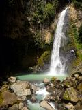 热带瀑布 库存图片