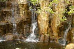 热带瀑布 图库摄影