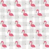 热带火鸟传染媒介无缝的样式 库存例证