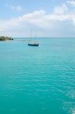 热带的划船 免版税库存照片