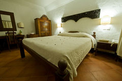 热带的卧室 库存照片