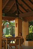热带的咖啡馆 免版税图库摄影