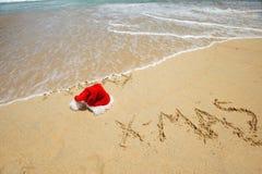 热带的圣诞节 库存照片