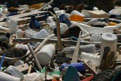 热带的垃圾 库存图片