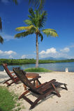 热带的天堂 免版税图库摄影