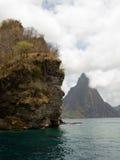 热带的山 免版税库存图片