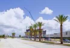 热带的建造场所 免版税库存图片