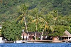 热带的房子 库存图片
